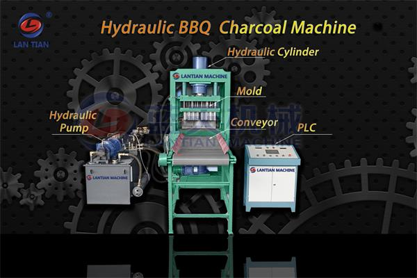 BBQ Charcoal Tablet Press Machine