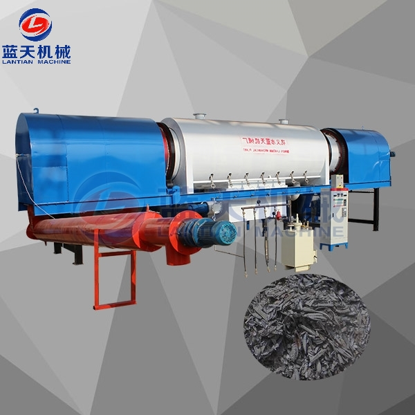 Sawdust Charcoal Carbonization Furnace