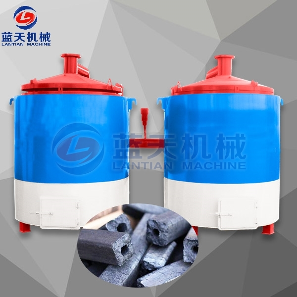 Sawdust Rods Carbonization Furnace